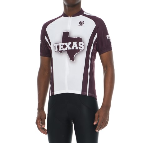 Canari Souvenir Texas Glory Cycling Jersey - Zip Neck, Short Sleeve (For Men)