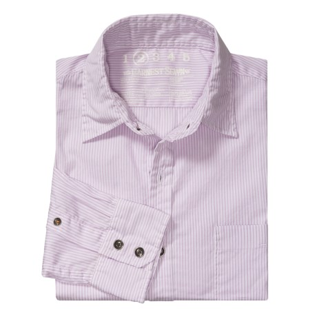Earnest Sewn Mini Stripe Shirt - Cotton, Long Sleeve (For Men)