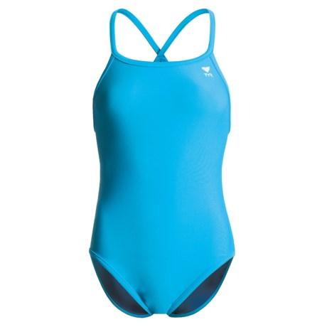 TYR Nylon One-Piece Swimsuit - Reversible (For Women)