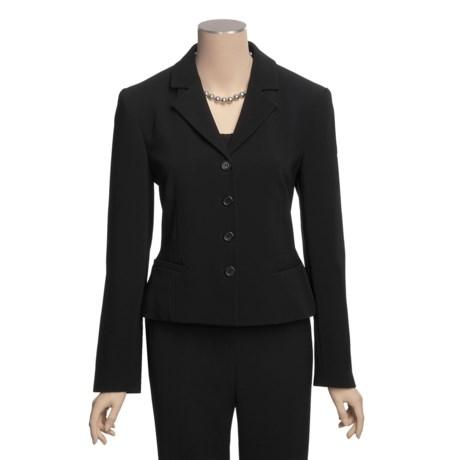 Louben Notched Lapel Jacket - 4-Button Front (For Women)