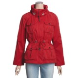 MontanaCo Nautical Jacket - Drawcord Waist, Roll-Up Sleeves (For Women)