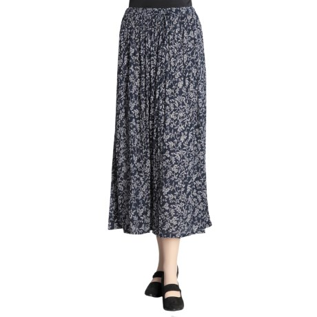 Orvis Crinkle Rayon Skirt (For Women)