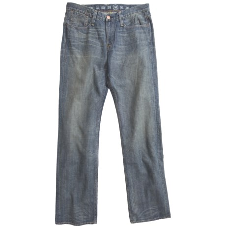Earnest Sewn Fulton 220 Button-Fly Jeans - Straight Leg (For Men)
