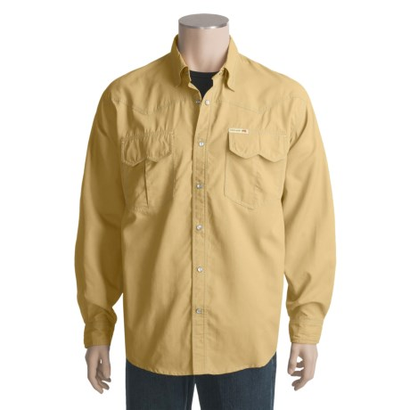 Grizzly Bowen Shirt - Long Sleeve, Quick-Dry Nylon (For Men)