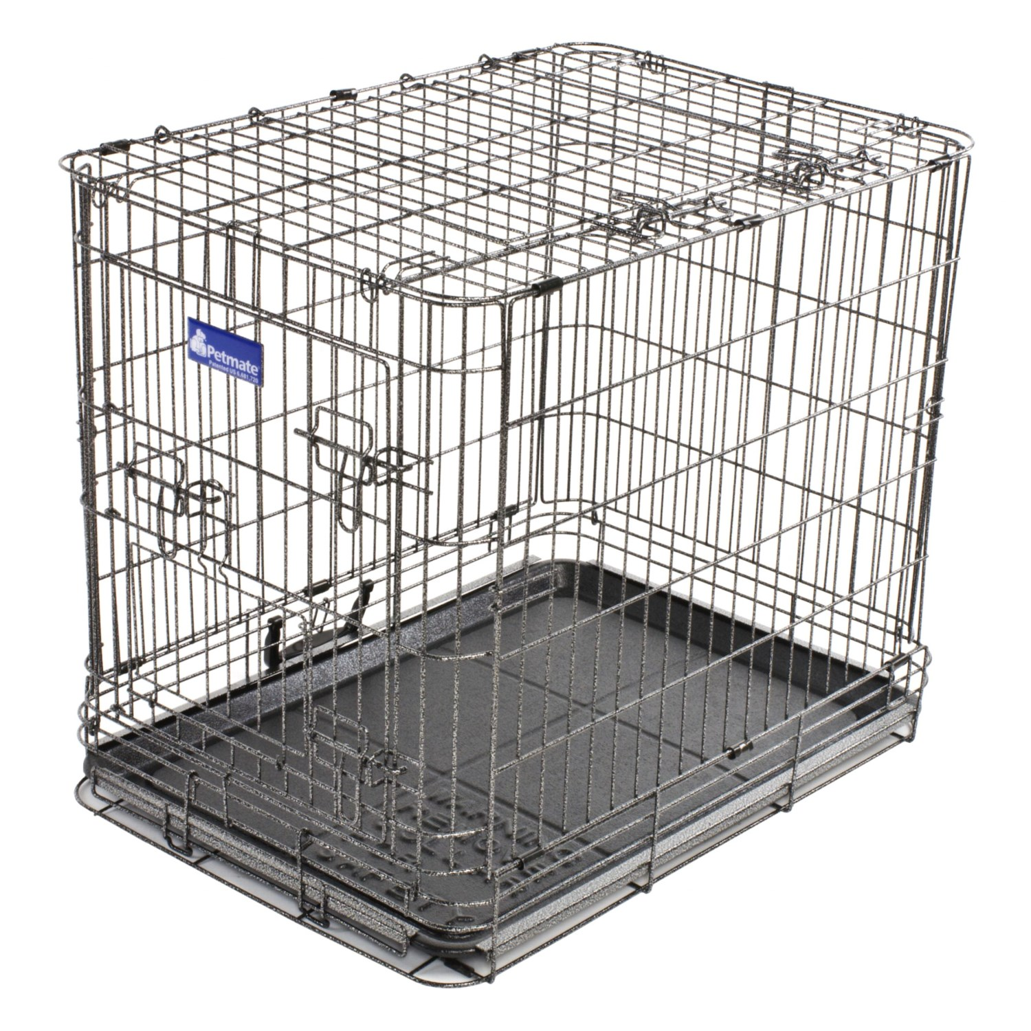 Petmate deluxe edition wire dog kennel large 29997 for Petmate large dog kennel
