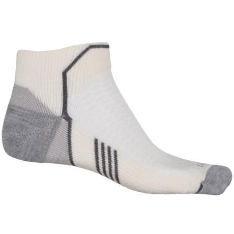 Sockwell Incline Compression Socks - Merino Wool, Quarter Crew (For Men)