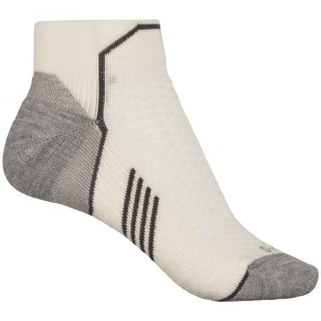 Sockwell Incline Compression Socks - Merino Wool, Quarter Crew (For Women)