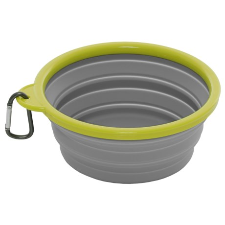 mod Pop-Up Dog Bowl - 50 oz., Collapsible Silicone