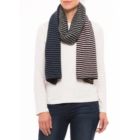 PWDER Room Multi-Stripe Knit Scarf (For Women)