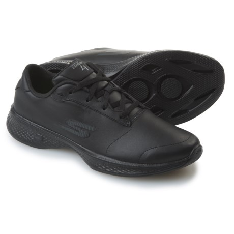Skechers GOWalk 4 Luxurious Walking Shoes - Leather (For Women)