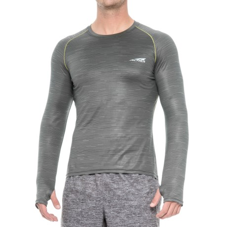 Altra Running Shirt - UPF 50, Long Sleeve (For Men)