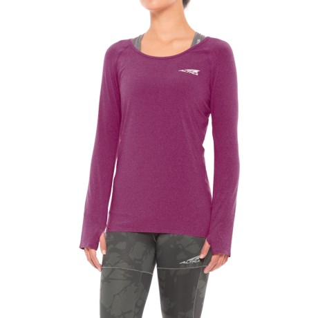Altra High-Performance Running T-Shirt - Long Sleeve (For Women)
