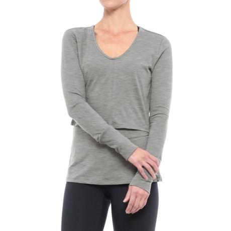 Satva Tina Shirt - Organic Cotton-Modal, Long Sleeve (For Women)