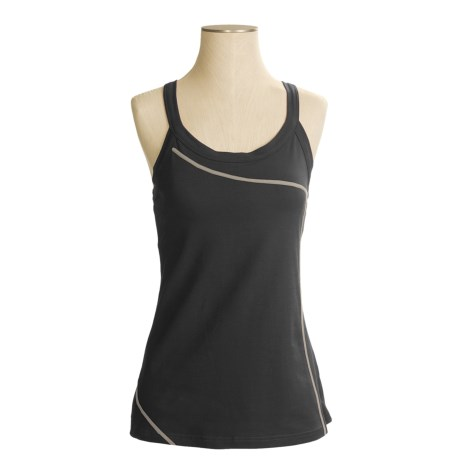 Mountain Hardwear Loess Tank Top - Organic Cotton, Crossover Straps (For Women)