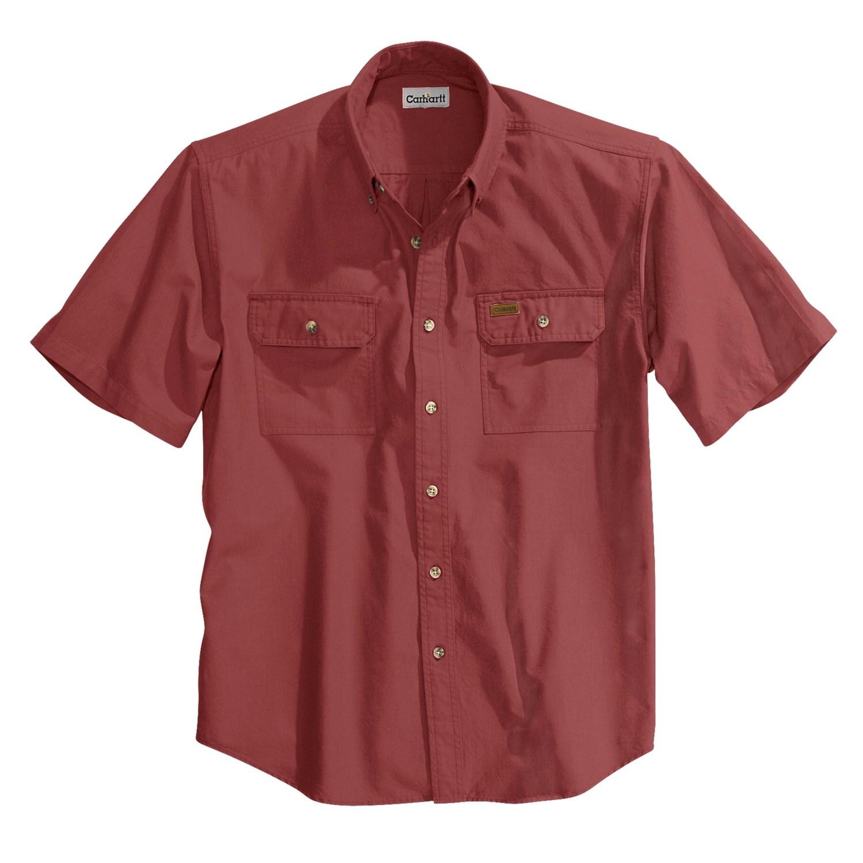 Carhartt lightweight chambray shirt for men 3006p for Carhartt men s long sleeve lightweight cotton shirt