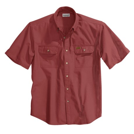 Carhartt Lightweight Chambray Shirt - Short Sleeve, Factory Seconds (For Men)