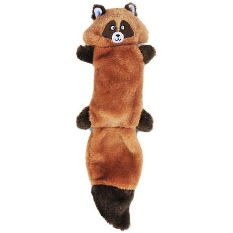 ZippyPaws Zingy Raccoon Squeaker Dog Toy