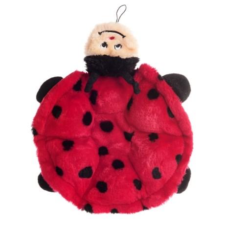 ZippyPaws Squeakie Crawler Ladybug Dog Toy