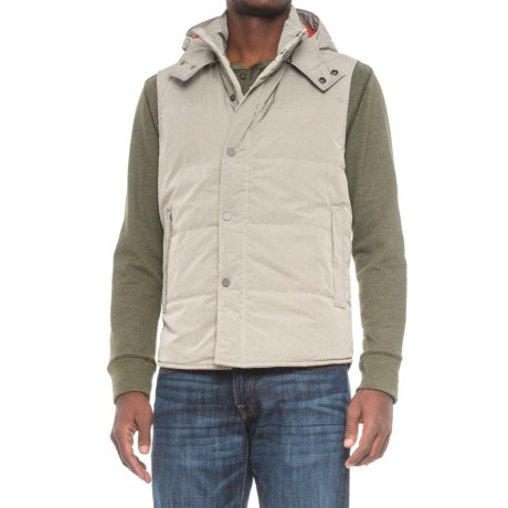 Exley Wind Cheater Vest with Hood (For Men)