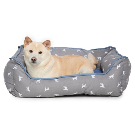 Humane Society Polka-Dog Dog Bed - 22x28""