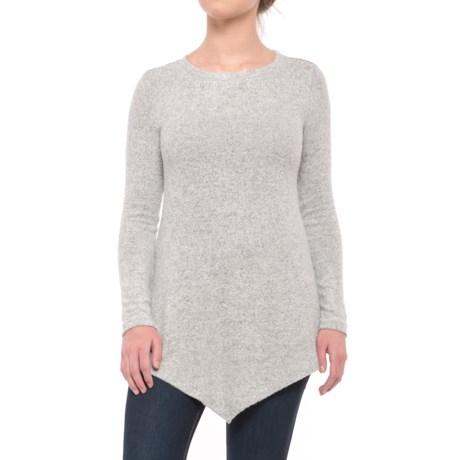 Workshop Republic Clothing Sharkbite Tunic Sweater (For Women)