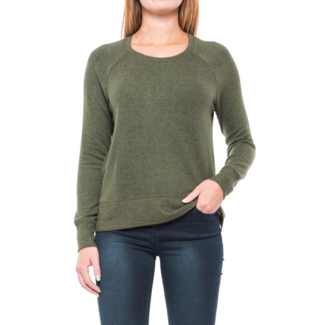 Workshop Republic Clothing Split-Hem Shirt - Long Sleeve (For Women)