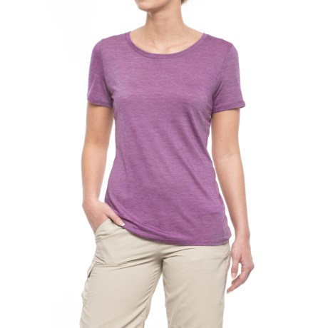 Icebreaker Sphere CoolLite® Crew T-Shirt - Merino Wool, Short Sleeve (For Women)