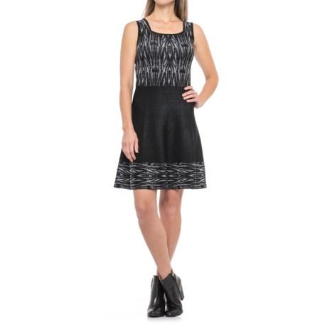 Catherine Catherine Malandrino Squareneck Color-Block Dress - Sleeveless (For Women)