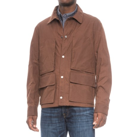 Exley Service Jacket - Cotton, Snap Closure (For Men)