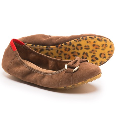 Adam Tucker by Me Too Kelly Ballet Flats - Suede (For Women)