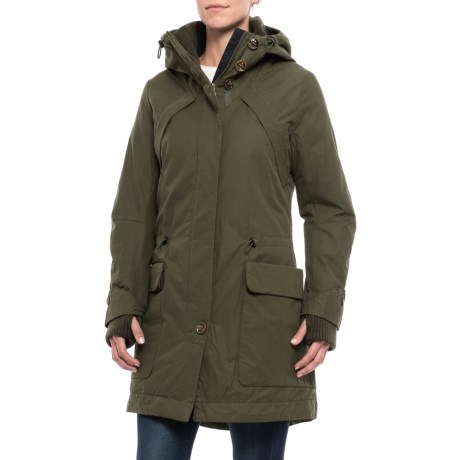 Rainforest Polyfill Parka - Insulated (For Women)