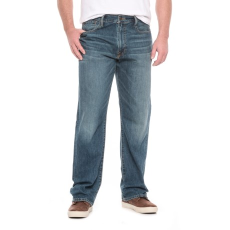 Lucky Brand 181 Relaxed Straight-Leg Jeans - Relaxed Fit (For Men)