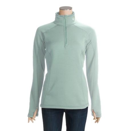 Mountain Hardwear Power Stretch® Pullover - Reversible, Quarter-Zip, Long Sleeve (For Women)