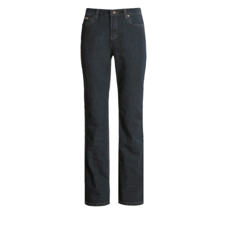 A Woman Embroidered Back Jeans - 5-Pocket (For Women)