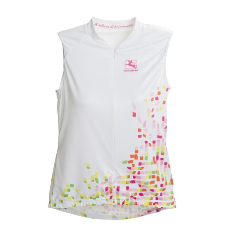 Giordana Art Cycling Jersey - Zip Neck, Sleeveless (For Women)