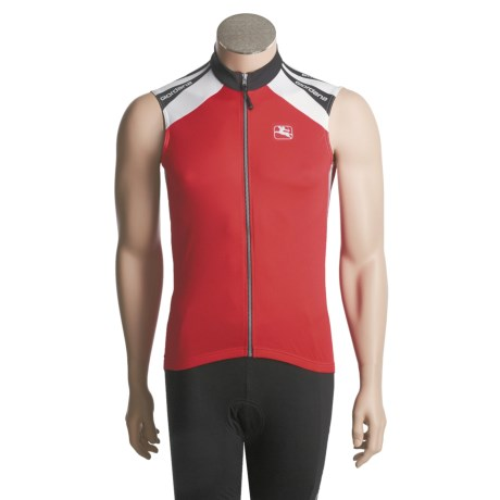 Giordana Silverline Cycling Jersey - Sleeveless (For Men)