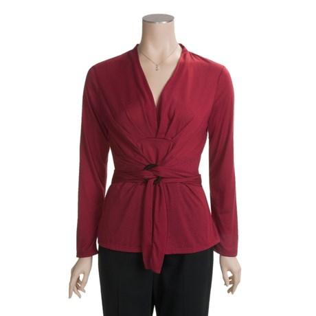 Two Star Dog Tatiana Shirt - Soft Jersey, Long Sleeve (For Women)