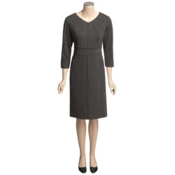 Two Star Dog Madison Dress - Ponte Knit, ¾ Sleeve (For Women)