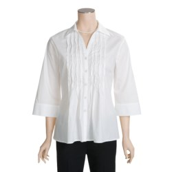 Two Star Dog Diana Shirt - Stretch Cotton Poplin, 3/4 Sleeve (For Women)