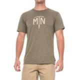 Mountain Hardwear Ice Axe T-Shirt - Short Sleeve (For Men)