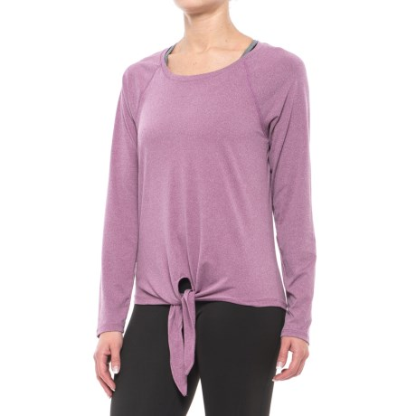 Balance Collection Renee Tie-Front Shirt - Long Sleeve (For Women)