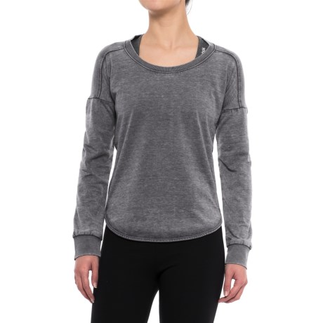 Balance Collection Leanne Peached Fleece Shirt - Long Sleeve (For Women)