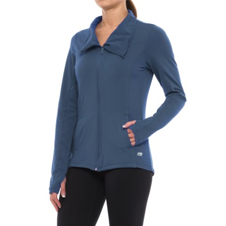 Marika Asymmetrical Full-Zip Jacket (For Women)