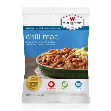 Wise Company Chili Mac - 4 Servings