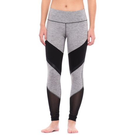 Yogalicious Color-Block Leggings (For Women)