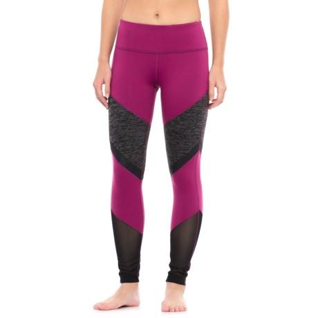 Yogalicious Color-Block Leggings (For Women)