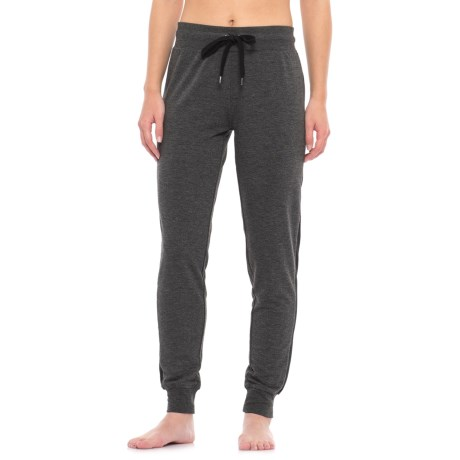 Yogalicious Mesh Side Panel Joggers (For Women)