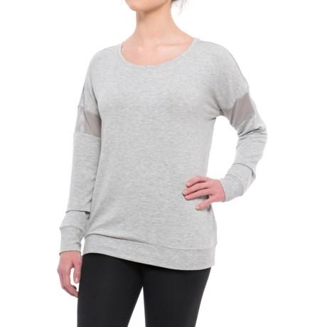 Yogalicious Mesh Band Shirt - Long Sleeve (For Women)