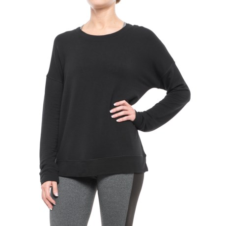 Yogalicious Laced Back Shirt - Long Sleeve (For Women)