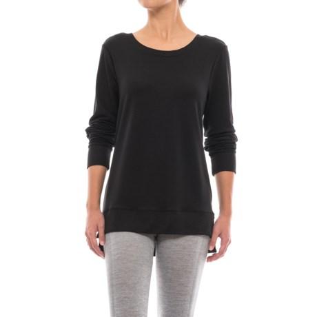 Yogalicious Missy Crisscross Back Shirt - Long Sleeve (For Women)